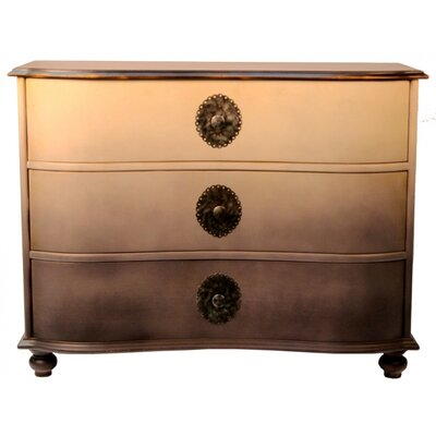 Kymani 3 Drawer Dresser