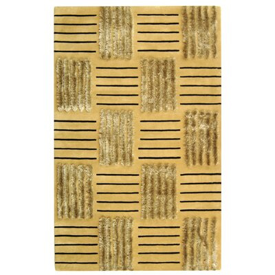 Dorthy Gold Area Rug Rug Size: Rectangle 83 x 11
