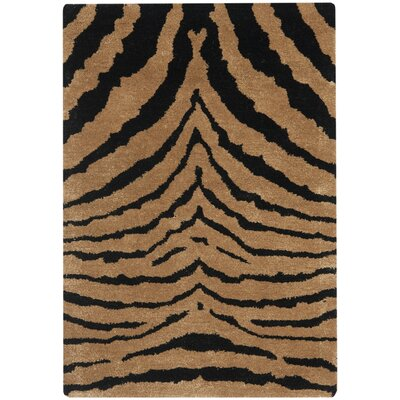 Dorthy Black/Brown Area Rug Rug Size: Rectangle 2 x 3
