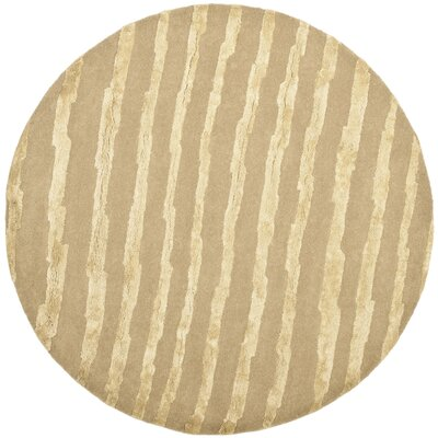 Dorthy Hand-Tufted Beige Area Rug Rug Size: 96 x 136
