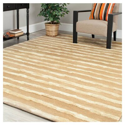 Dorthy Hand-Tufted Beige Area Rug Rug Size: Rectangle 2 x 3