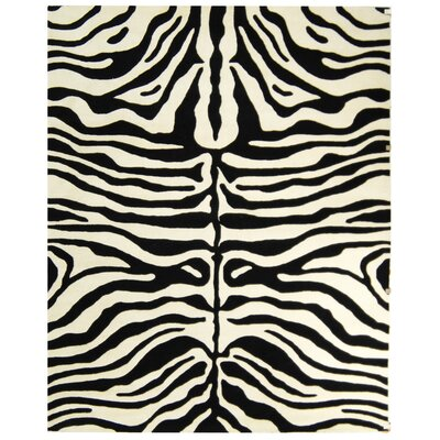 Dorthy Beige/Charcoal Area Rug Rug Size: Rectangle 83 x 11