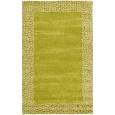 Dorthy Light Green Area Rug Rug Size: Rectangle 76 x 96