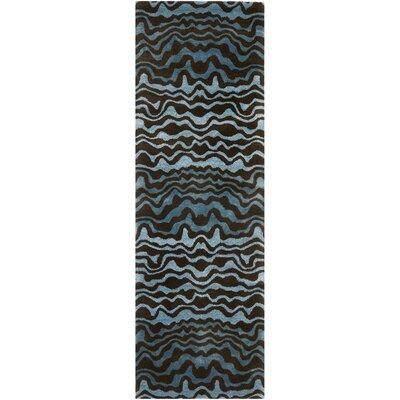 Dorthy Blue Area Rug Rug Size: Runner 26 x 12