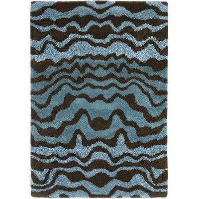 Dorthy Blue Area Rug Rug Size: 2 x 3