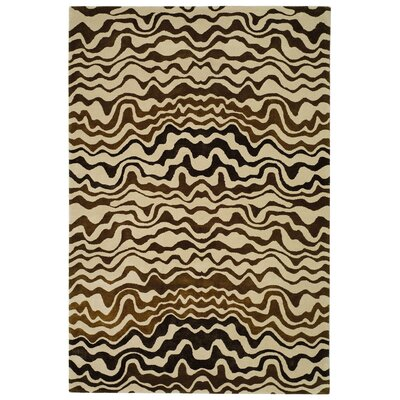 Argana Beige/Brown Area Rug Rug Size: Runner 26 x 10