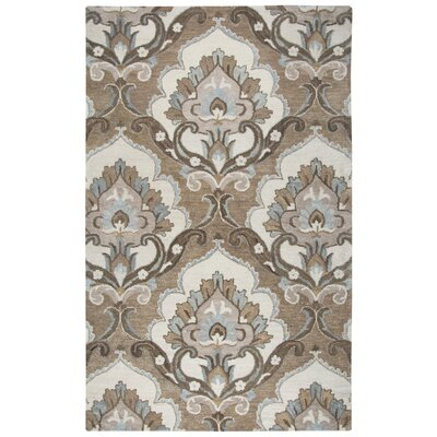 Acker Hand-Tufted Mocha Area Rug Size: Rectangle 8 x 10