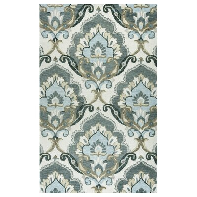 Acker Hand-Tufted Beige Area Rug Size: Rectangle 9 x 12