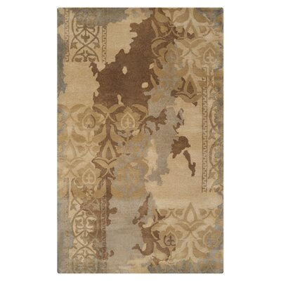 Brees Gray/Beige Area Rug Rug Size: 5 x 8