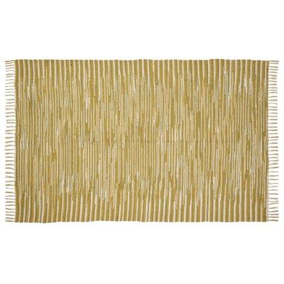 Shaila Yellow Area Rug Rug Size: 8 x 11