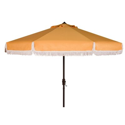 Greenberry 8 Fringe Crank Drape Umbrella
