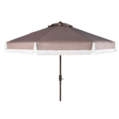 Greenberry 8 Modern Fringe Crank Drape Umbrella