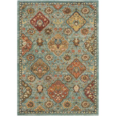 Masala Market Blue Area Rug Rug Size: Rectangle 9 3 x 12 6