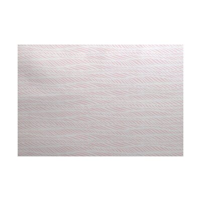 Rafia Pink/Gray Indoor/Outdoor Area Rug Rug Size: 2 x 3