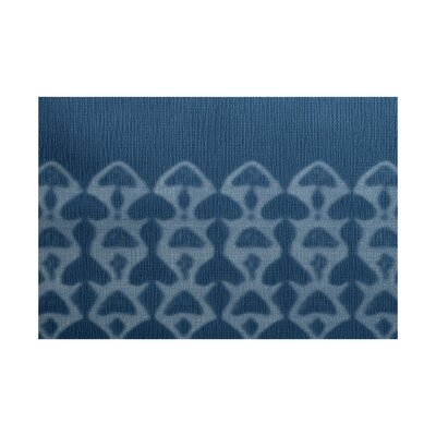 Rafia Blue Indoor/Outdoor Area Rug Rug Size: 4 x 6