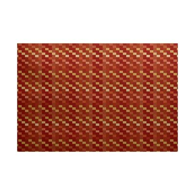 Echo Rust Indoor/Outdoor Area Rug Rug Size: 3 x 5