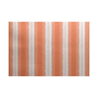 Navarro Orange/Gray Indoor/Outdoor Area Rug Rug Size: 4 x 6