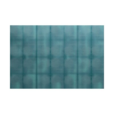 Viet Green Striped Indoor/Outdoor Area Rug Rug Size: Rectangle 2 x 3