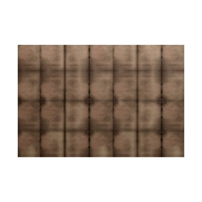 Viet Flat Woven Brown Indoor/Outdoor Area Rug Rug Size: 5 x 7