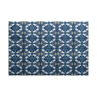 Viet Traditional Blue Indoor/Outdoor Area Rug Rug Size: 4 x 6