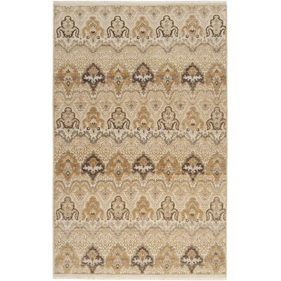 Walker Tan Area Rug Rug Size: 2 x 3
