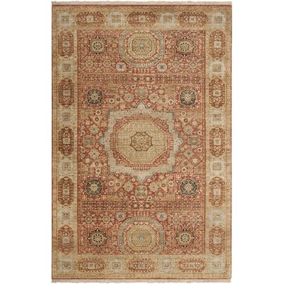 Cady Burnt Sienna Area Rug Rug Size: Rectangle 56 x 86