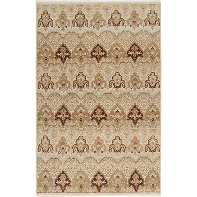 Cady Antique White Area Rug Rug Size: 56 x 86