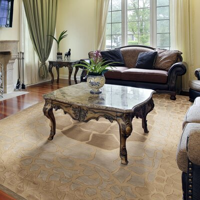 Ferber Taupe Area Rug Rug Size: Rectangle 8 x 11