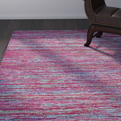 Tieast Fuchsia Area Rug Rug Size: Rectangle 8 x 11