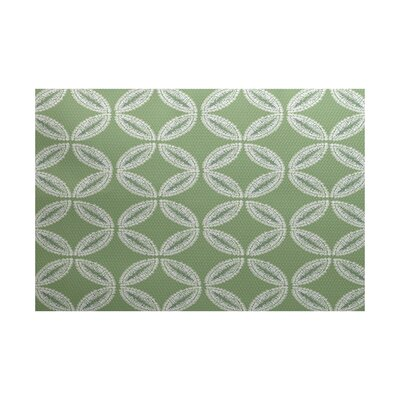Viet Green Indoor/Outdoor Area Rug Rug Size: 2' x 3'