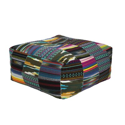 Raina Square Tribal Pouf