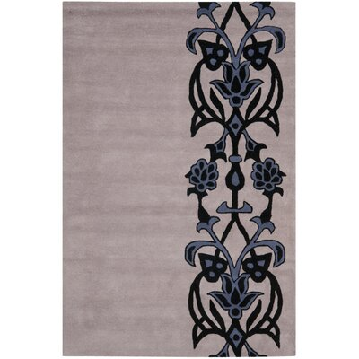 Dorthy Beige/Purple Rug Rug Size: Rectangle 36 x 56
