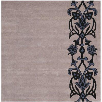 Dorthy Beige/Purple Rug Rug Size: Square 6
