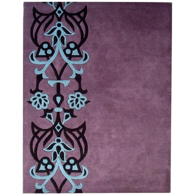 Dorthy Purple/Blue Rug Rug Size: 5 x 8