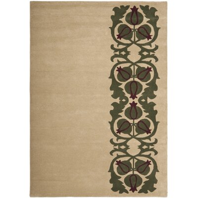 Dorthy Beige/Grey Rug Rug Size: Rectangle 5 x 8
