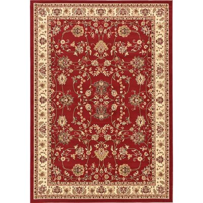 Southern Red Area Rug Rug Size: 7 x 10