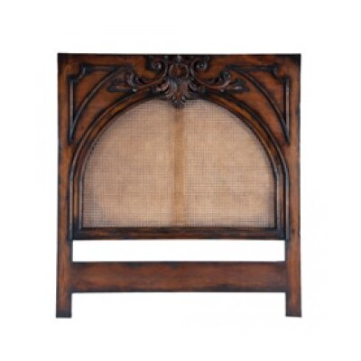 Thendara Panel Headboard Finish: Deep Forest Stain/Black Hang-Up