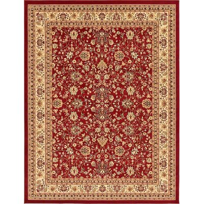 Southern Red Area Rug Rug Size: 9 x 12