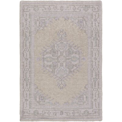 Alessi Taupe/Mauve Oriental Rug Rug Size: 2 x 3