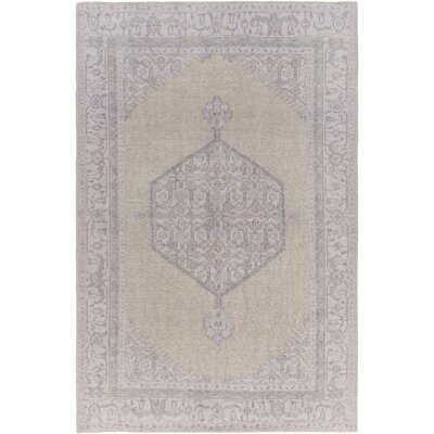 Fender Taupe/Mauve Oriental Rug Rug Size: Rectangle 36 x 56