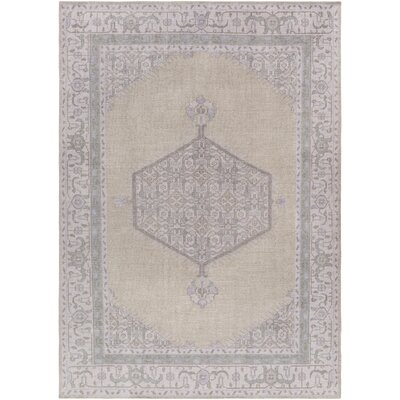 Alessi Taupe/Mauve Oriental Rug Rug Size: Rectangle 8 x 11