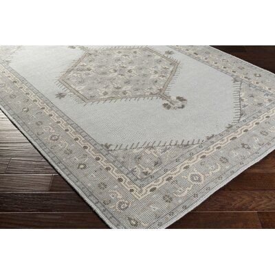 Fender Charcoal/Slate Oriental Rug Rug Size: Rectangle 8 x 11