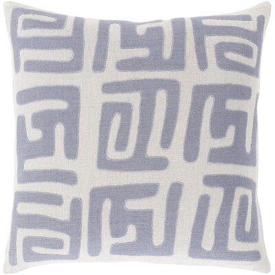 Bomaderry Throw Pillow Cover Size: 20 H x 20 W x 1 D, Color: BlueGray