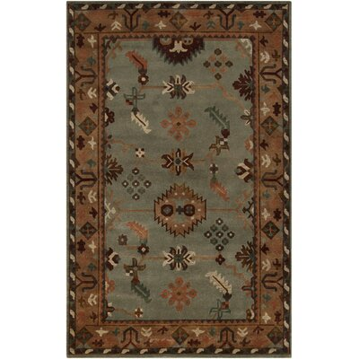 Alastair Pale Green Area Rug Rug Size: 5 x 8