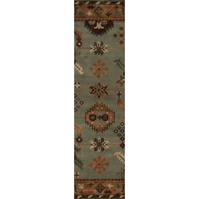 Alastair Pale Green Area Rug Rug Size: Runner 26 x 10