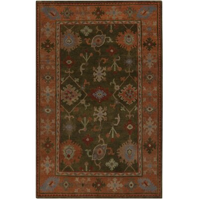 Alastair Spruce Green Area Rug Rug Size: Rectangle 5 x 8