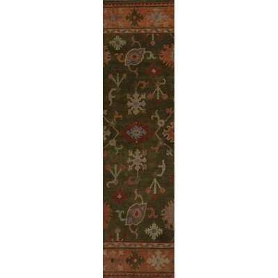 Alastair Spruce Green Area Rug Rug Size: Runner 26 x 10