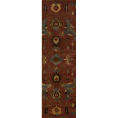 Alastair Burnt Sienna Area Rug Rug Size: Runner 26 x 10