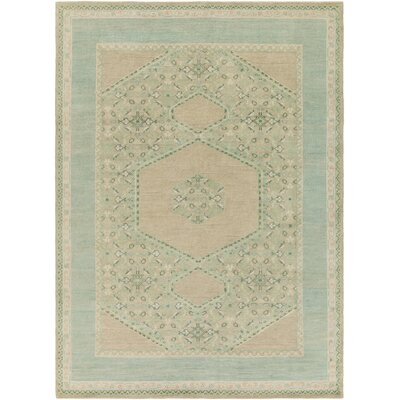 Bonefield Sea Oriental Foam Area Rug Rug Size: 2 x 3