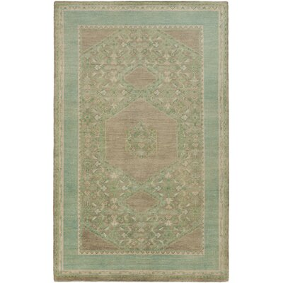 Bonefield Sea Oriental Foam Area Rug Rug Size: Rectangle 56 x 86